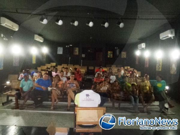 Grupo ESCALET realiza 1ª reunião com elenco principal da Paixão de Cristo 2015.(Imagem:FlorianoNews)