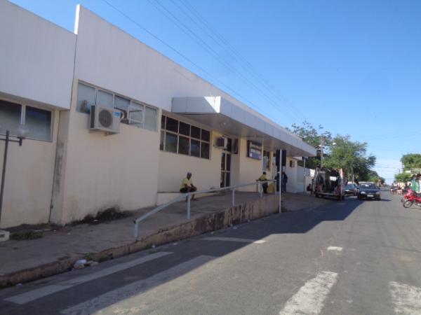 Hospital Regional Tibério Nunes(Imagem:FlorianoNews)