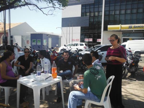 Bancários de Floriano deflagram greve por tempo indeterminado.(Imagem:FlorianoNews)