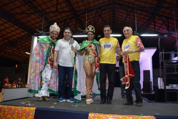 Lançado oficialmente o Carnaval de Floriano.(Imagem:Waldemir Miranda)