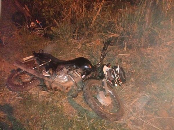PM de Barão de Grajaú apreende arma de fogo e motocicleta tomada em assalto (Imagem:Divulgação/PM)