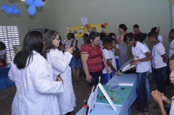 Alunos da Escola Benedito Rodrigues da Silva promovem