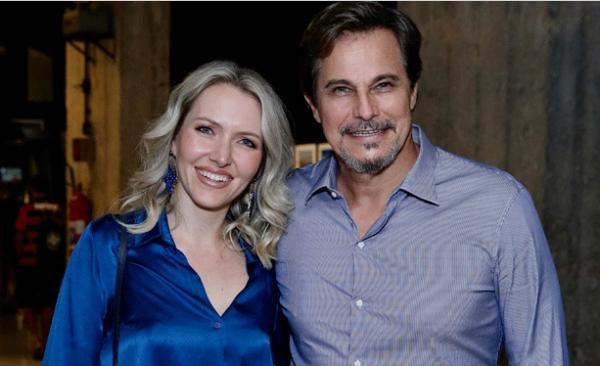 Karin Roepke e Edson Celulari(Imagem:Roberto Filho/ Brazil News)