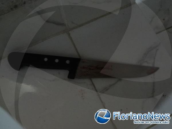 Homem mata a mulher com sete facadas em Barão de Grajaú.(Imagem:FlorianoNews)