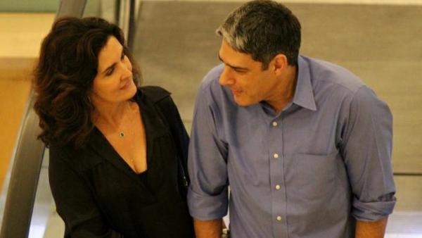 Fátima Bernardes e William Bonner(Imagem:Reprodução)