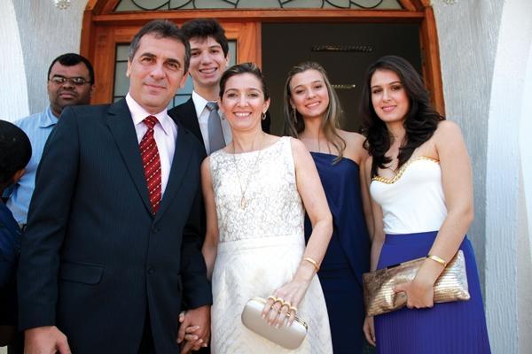 Prefeito e Família(Imagem:Divulgação)