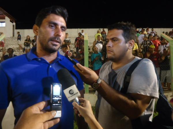 Jogando em casa, Cori-Sabbá estreia no Campeonato Piauiense com derrota.(Imagem:FlorianoNews)