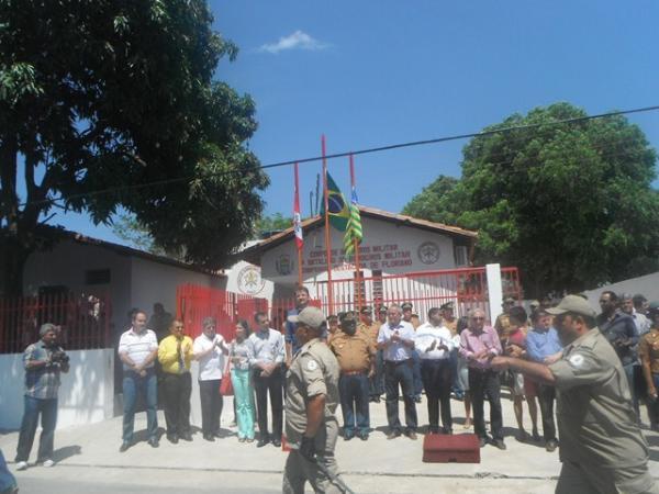 Wilson Martins inaugurou nova sede do Corpo de Bombeiros em Floriano.(Imagem:FlorianoNews)