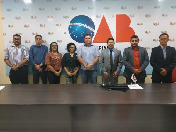Em eleição indireta, Pablo Alves é eleito presidente da subsecção da OAB em Floriano.(Imagem:Divulgação)