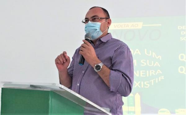 Secretário de Educação, Nylfranyo Ferreira.(Imagem:SECOM)