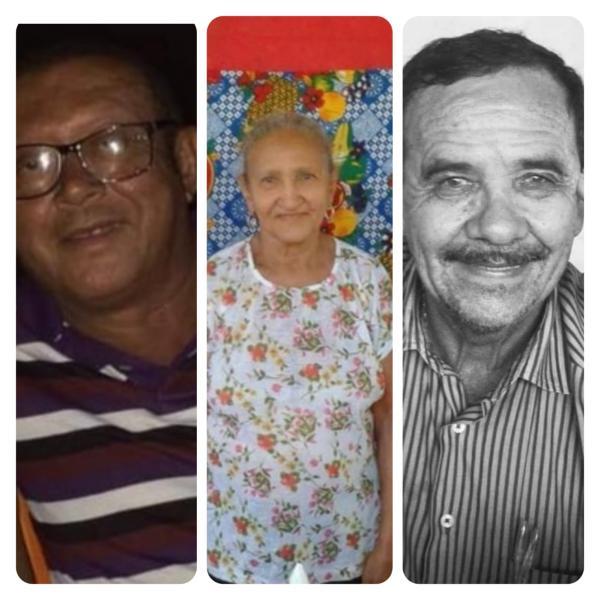 Professores Chagas, Julinha e Raimundo(Imagem:Divulgação)