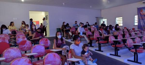 Sasc promove ações descentralizadas de incentivo à Primeira Infância em Floriano(Imagem:FlorianoNews)