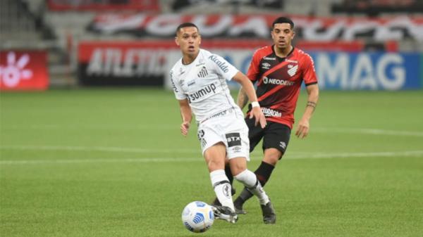 Santos decide vaga na Copa do Brasil contra o Athletico-PR(Imagem:Reprodução)