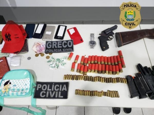 Material utilizado para realizar roubos em caixas eletrônicos em Teresina.(Imagem:Divulgação/Polícia Civil)