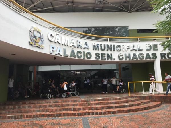Câmara Municipal de Teresina(Imagem:Lorena Linhares/ G1 PI)