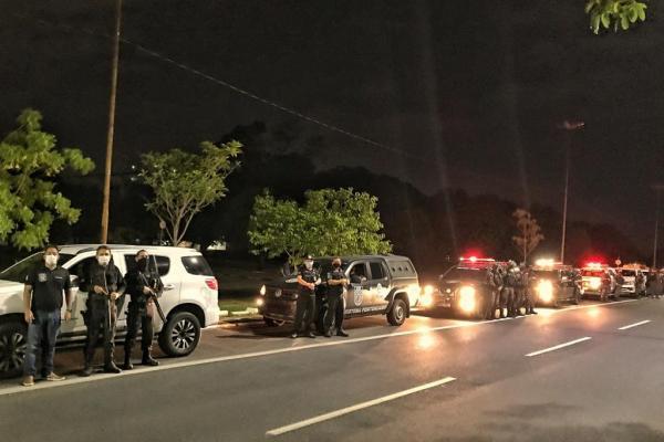 A ação aconteceu na noite desse domingo (27).(Imagem:Divulgação)