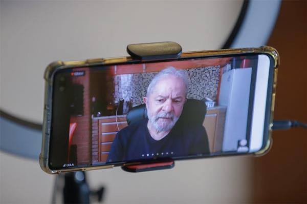 Fábio Novo participa de reunião com Lula e reforça pré-candidatura(Imagem:Reprodução)