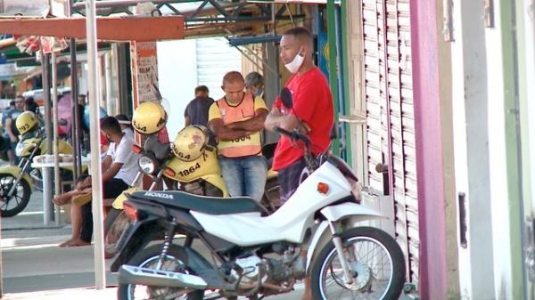 Isolamento social em Teresina(Imagem:TV Clube)