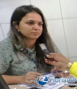 Ana Paula, gerente do SESC Floriano.(Imagem:FlorianoNews)