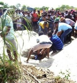 Cortejo com o corpo do jogador percorreu ruas de Floriano.(Imagem:Piauí Notícias)