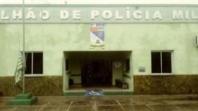 Batalhão da PM de Florian(Imagem:FlorianoNews)