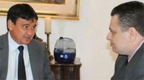 Wellington Dias e Gessivaldo Isaias(Imagem:Cidadeverde.com)