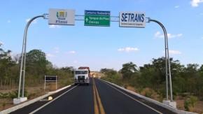 Governo finaliza obras de pavimentação em três rodovias estaduais.(Imagem:ASCOM)