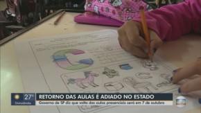 Governo de SP adia reabertura das escolas para 7 de outubro(Imagem:Reprodução)