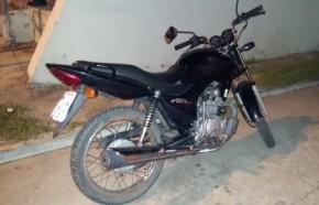 PM recupera moto roubada em Floriano(Imagem:Divulgação)
