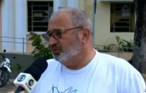 Célio Luís Barbosa, coordenador da Fazenda da Paz.(Imagem:Reprodução)