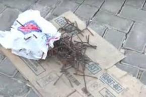 Bandidos explodem agência da Caixa de Timon e espalham pregos pela cidade.(Imagem:CidadeVerde.com)