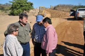 Governador visita obras(Imagem:Francisco Leal)