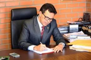 Deputado Zé Santana (PMDB)(Imagem:Aleí)