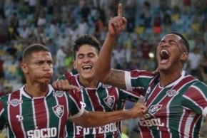 Com três gols no 2°tempo, Fluminense derrota o Goiás e avança na Copa do Brasil(Imagem:Divulgação)