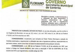 Decreto Nº 020/2019 e Decreto Nº 005/2018(Imagem:Divulgação)