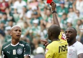 Deyverson é suspenso por seis jogos por cusparada contra o Corinthians.(Imagem:Divulgação)