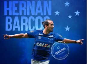 Hernán Barcos é anunciado pelo Cruzeiro(Imagem:Instagram)