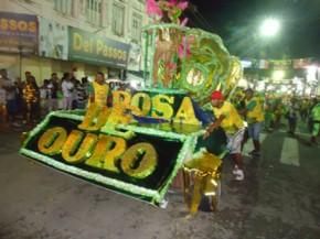 Rosa de Ouro desiste de participar do carnaval 2016 em Floriano.(Imagem:Divulgação)
