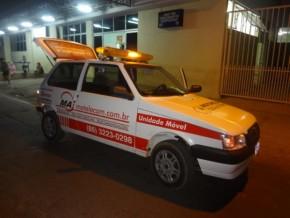 Chegada ao Hospital Tibério Nunes(Imagem:FlorianoNews)