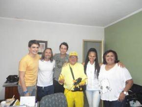 Florianenses irão gravar para a Campanha Criança Esperança(Imagem:FlorianoNes)