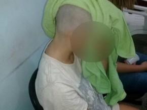 Mulher é mantida em cárcere privado e tem cabeça raspada pelo ex-namorado.(Imagem:G1.com)