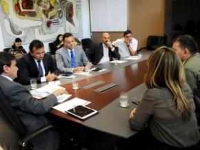 Gestores discutem segurança nas escolas públicas do Estado.(Imagem:CCOM)