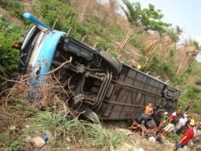 Acidente que ocorreu na BR 316, entre Teresina e Caxias.(Imagem:Jailson Soares )