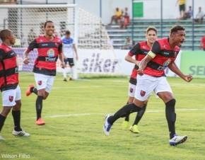 Miltão ainda desconta para o Fla-PI, mas não evita eliminação para o Parnahyba.(Imagem:Wilson Filho/ECF)