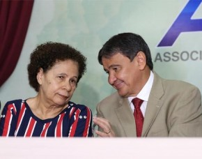 Governador Wellington Dias (PT) e vice Regina Sousa (PT)(Imagem:Roberta Aline)