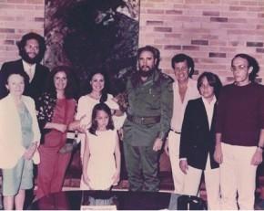 Duvivier alfineta Regina Duarte ao achar foto da atriz com Fidel Castro.(Imagem:Instagram)