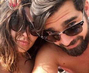Gyselle Soares e  Kévin Rouschausse(Imagem:Instagram)