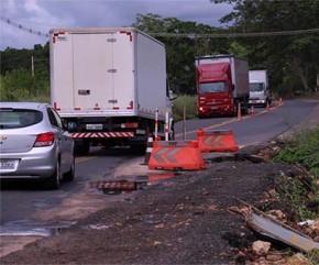 BR-343 segue interditada e PRF recomenda rotas alternativas.(Imagem:Cidadeverde.com)