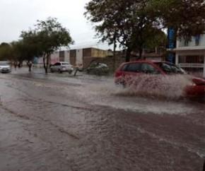 Previsão do tempo faz alerta para chuvas de alta intensidade.(Imagem:CidadeVerde.com)