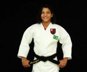 Sarah conquista o bronze no Campeonato Brasileiro de Judô.(Imagem:Staff / Flamengo)